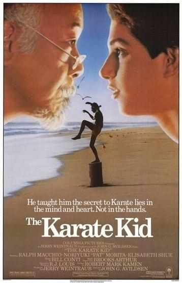 Like in the movies - Tetraktys - The Karate kid